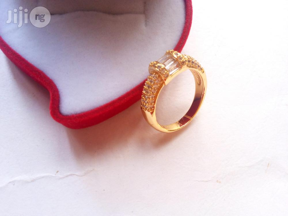 Leyla Williams Gold Stunning Engagement Ring 0002   Wedding Wear & Accessories for sale in Lagos State, Nigeria