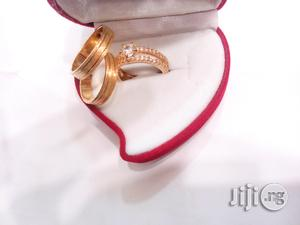 Brand New Real Romania Gold Engagement and Wedding Ring 004 | Wedding Wear & Accessories for sale in Lagos State