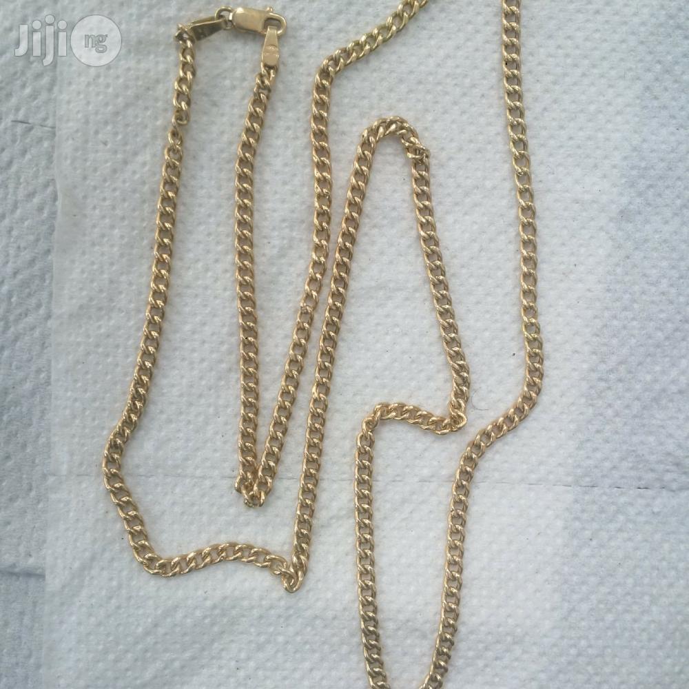 Pure ITALY 750 Solid 18krt Gold Cuban Medium Size Design