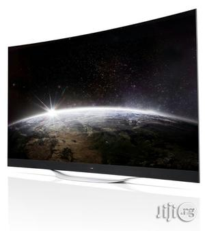 Brand New Original Lg Led 60 Inches Smart Curve Tv With 2 Years Warranty | TV & DVD Equipment for sale in Lagos State, Ojo