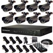 8 Camera CCTV With Internet 3G Phone View | Security & Surveillance for sale in Lagos State, Ikeja