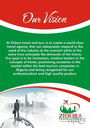 Zidora Travel And Tours | Travel Agents & Tours for sale in Lagos State