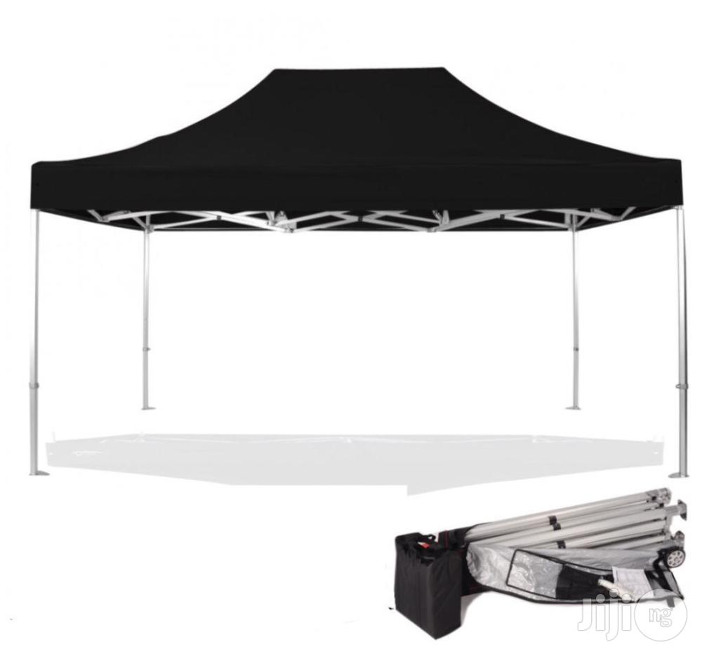 Eye-catching Foldable Gazebo 3m By 4.5m / Tent / Canopy / Umbrella | Garden for sale in Lagos State, Nigeria