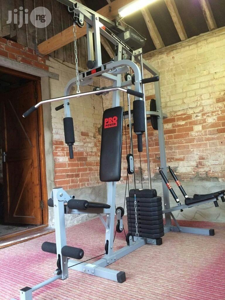 Brand New 3 Station Commercial Gym Equipment With Stepper Push Up