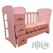 Passion Baby Cot With Shelf, Drawers And Removable Sides | Children's Furniture for sale in Lagos State