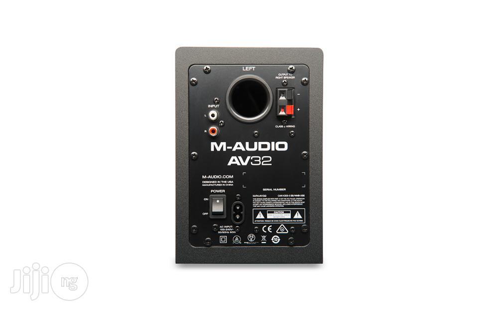 M-audio AV32 Studio Monitors / Monitor Speakers | Audio & Music Equipment for sale in Surulere, Lagos State, Nigeria