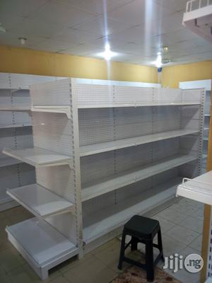 Double Sided Supermarket Shelf | Store Equipment for sale in Imo State, Owerri