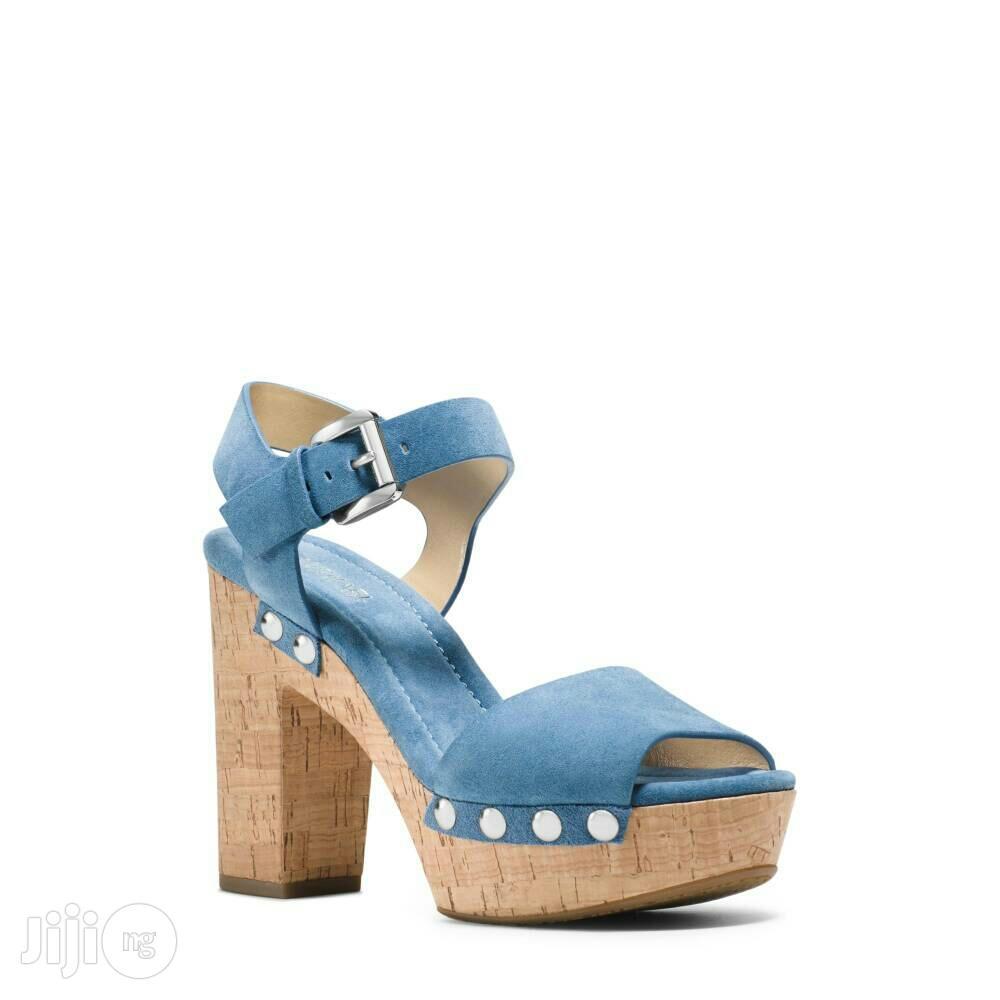 Michael Kors Hayden Suede Sandals.