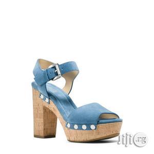 Michael Kors Hayden Suede Sandals.   Shoes for sale in Lagos State, Ikeja