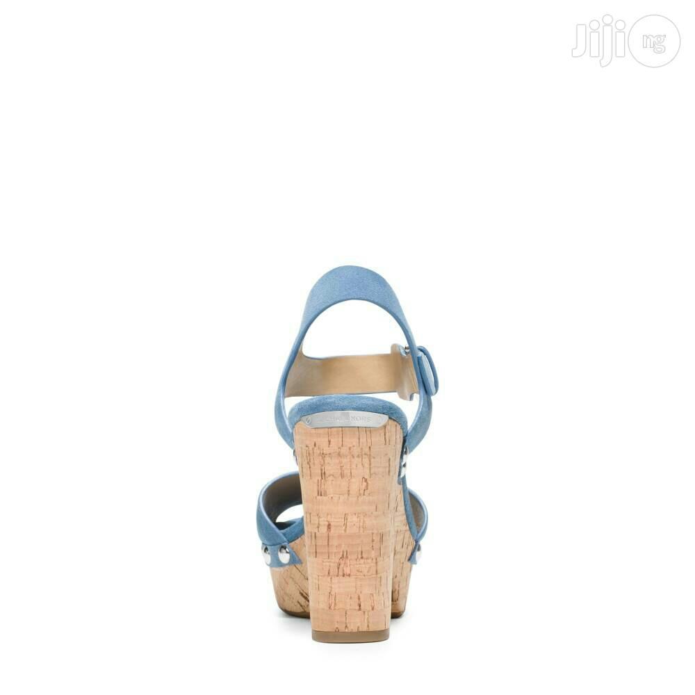 Michael Kors Hayden Suede Sandals.   Shoes for sale in Ikeja, Lagos State, Nigeria