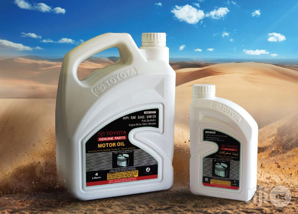 Archive: Toyota SAE 5W-30 Full Synthetic Engine Oil