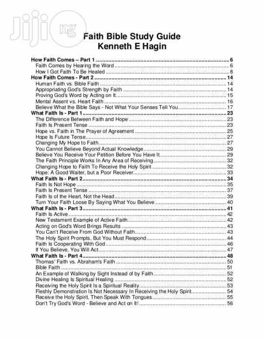 Bible Faith Study Course 2nd Edition by Kenneth E. Hagin | Books & Games for sale in Apapa, Lagos State, Nigeria