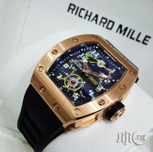 Richard Mille Chronograph Men Wristwatch | Watches for sale in Lagos State, Oshodi