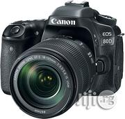 Canon EOS 80D Professional DSLR Camera With 18-135mm Lens | Photo & Video Cameras for sale in Lagos State, Ikeja
