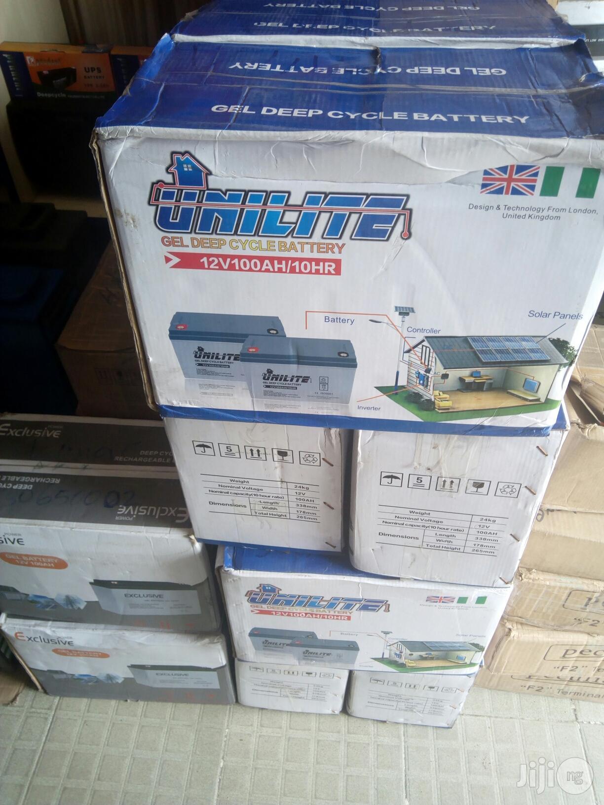 200ah/12v INDEX Exide Battery | Solar Energy for sale in Port-Harcourt, Rivers State, Nigeria
