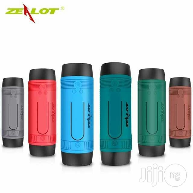 Zealot S1 Bluetooth Speaker, 4000mah Power Bank And LED Light