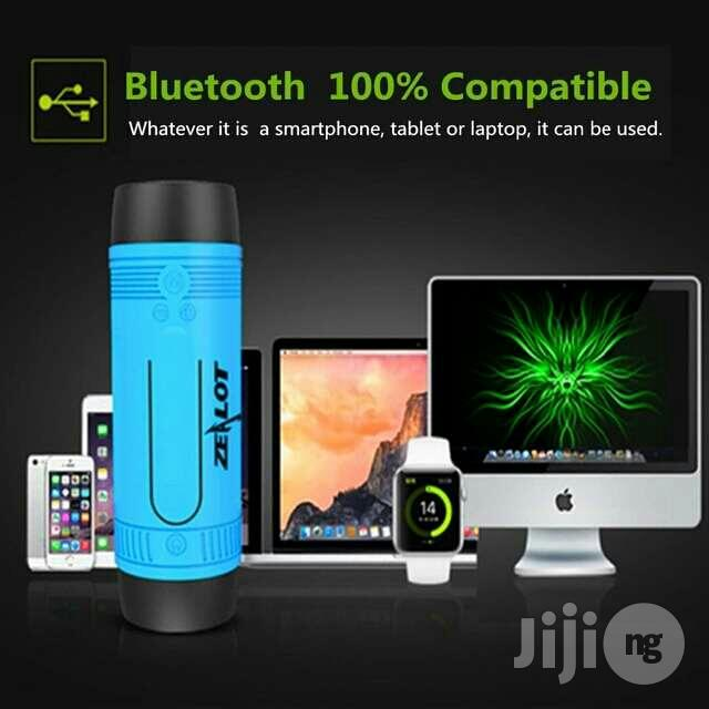 Zealot S1 Bluetooth Speaker, 4000mah Power Bank And LED Light | Audio & Music Equipment for sale in Apapa, Lagos State, Nigeria