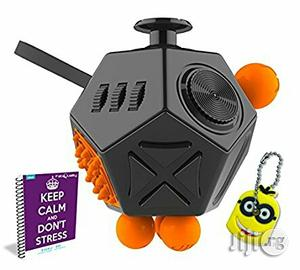 USA Fabquality Fidget Cube 12 Sides Toy For Children And Adult | Toys for sale in Lagos State, Alimosho