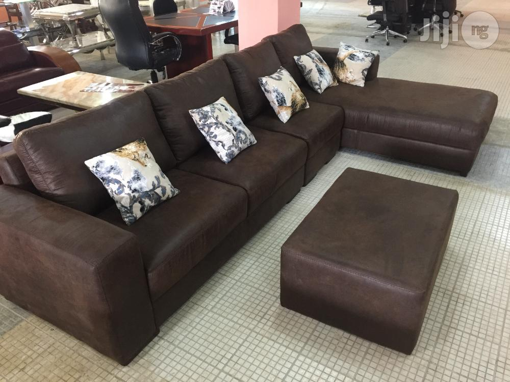 Archive: New Arrival L Sharp Fabric Sofa