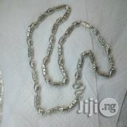 ITALY 925 Original Silver Necklace Unique Grandut Design | Jewelry for sale in Lagos State, Lagos Island