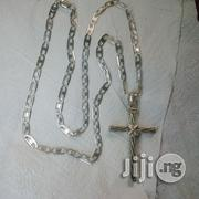 Pure ITALY 925 Original Silver Senior Blade Belt Wit Crucifix | Jewelry for sale in Lagos State, Lagos Island