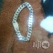 Pure ITALY 925 Solid Silver Bracelet Cuban Design Hook | Jewelry for sale in Lagos State, Lagos Island
