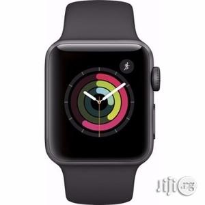 Apple Iwatch 42mm Aluminum Sport Band Watch - Space Grey   Smart Watches & Trackers for sale in Lagos State, Ikeja