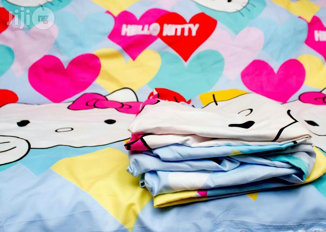Hello Kitty Cartoon Bed Sheets In Lagos Island Eko Home Accessories Teenytoesandlingerie Jiji Ng For Sale In Lagos Island Eko Buy Home Accessories From Teenytoesandlingerie On Jiji Ng