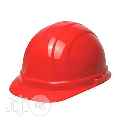 V- Guard Safety Helmet /Red (Wholesale)