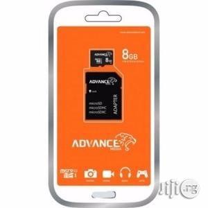 8GB Advance Memory Card   Accessories for Mobile Phones & Tablets for sale in Lagos State, Ikeja