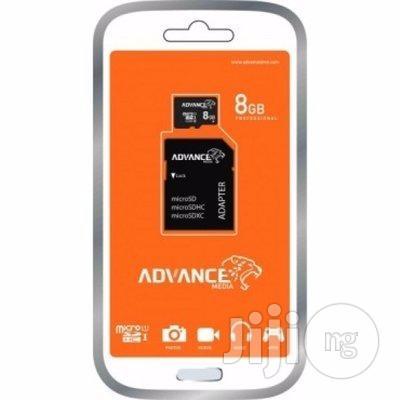 8GB Advance Memory Card