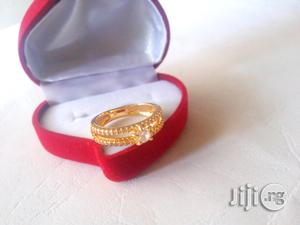 Romania Gold Proposal Ring 202 Available In All Sizes   Wedding Wear & Accessories for sale in Lagos State, Ojodu