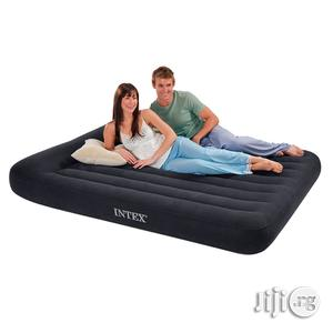 INTEX Queen Size Classic Airbed With Pump & Pillows/5x6(Wholesale) | Furniture for sale in Lagos State, Ikeja