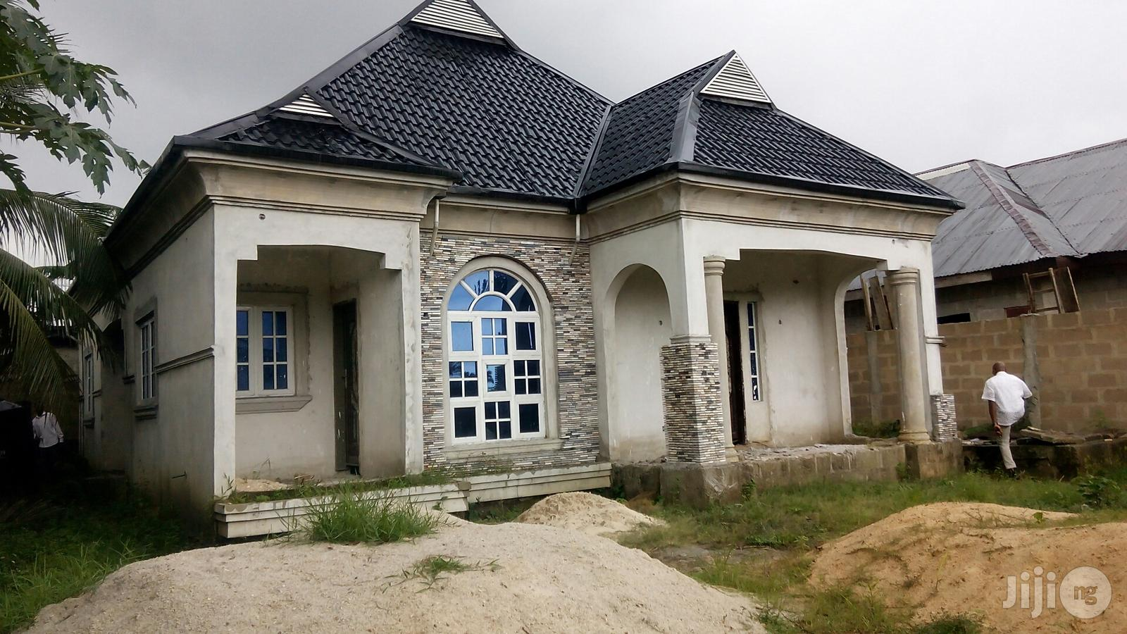 Distress Sale!!3bedroom Bungalow On 1plot Of Land At Off Ada George PH