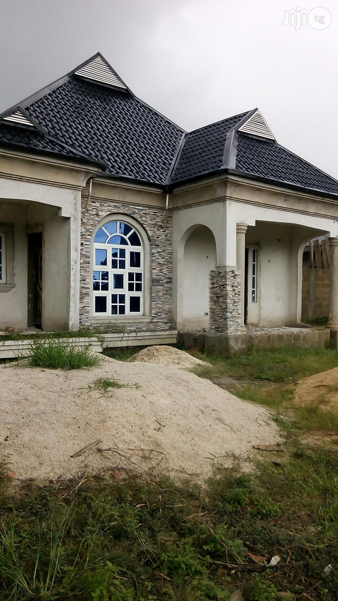Distress Sale!!3bedroom Bungalow On 1plot Of Land At Off Ada George PH | Land & Plots For Sale for sale in Port-Harcourt, Rivers State, Nigeria