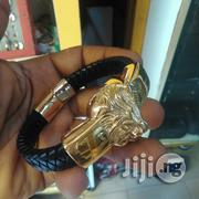 Lion Head Bracelet Leather Strap In The Store | Jewelry for sale in Lagos State, Lagos Island