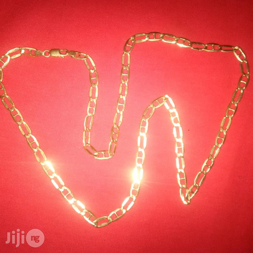 Pure ITALY 750 Solid 18krt Gold Doggychain Design | Jewelry for sale in Lagos Island (Eko), Lagos State, Nigeria