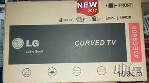 Original LG Led Curve TV 43 Inches With 2years Warranty Sign   TV & DVD Equipment for sale in Lagos State, Ojo