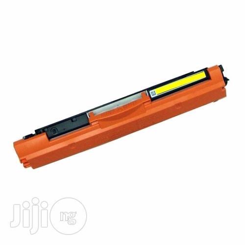 Ion Original HP Compatible CF352A 130A Yellow Printer Toner Cartridge