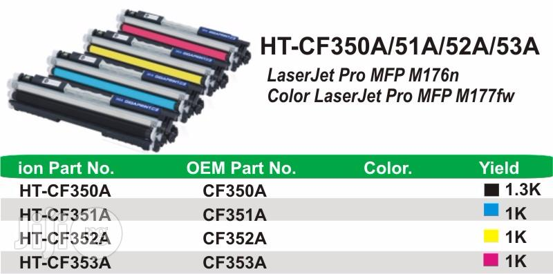 Ion Original HP Compatible CF353A 130A Magenta Printer Toner Cartridge   Accessories & Supplies for Electronics for sale in Ikeja, Lagos State, Nigeria