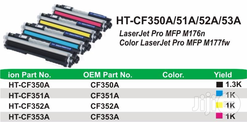Ion Original HP Compatible CF352A 130A Yellow Printer Toner Cartridge   Accessories & Supplies for Electronics for sale in Ikeja, Lagos State, Nigeria