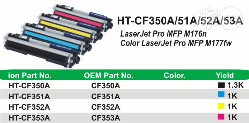 Ion Original HP Compatible CF350A 130A Black Printer Toner Cartridge   Accessories & Supplies for Electronics for sale in Ikeja, Lagos State, Nigeria
