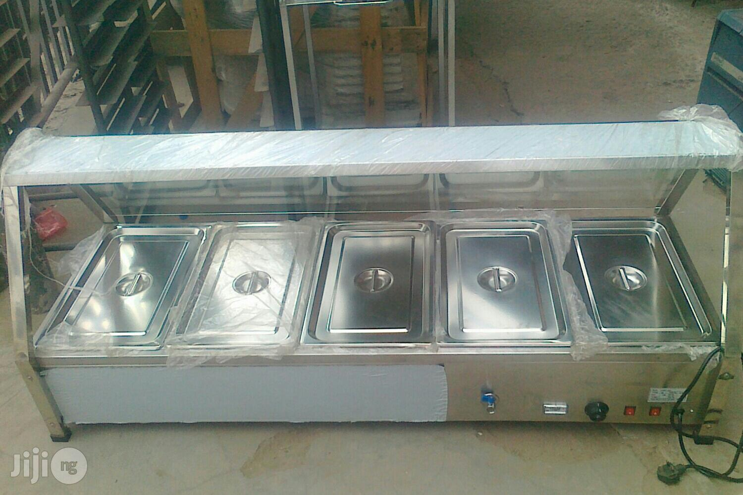 5 Plate Food Display Warmer | Restaurant & Catering Equipment for sale in Ojo, Lagos State, Nigeria