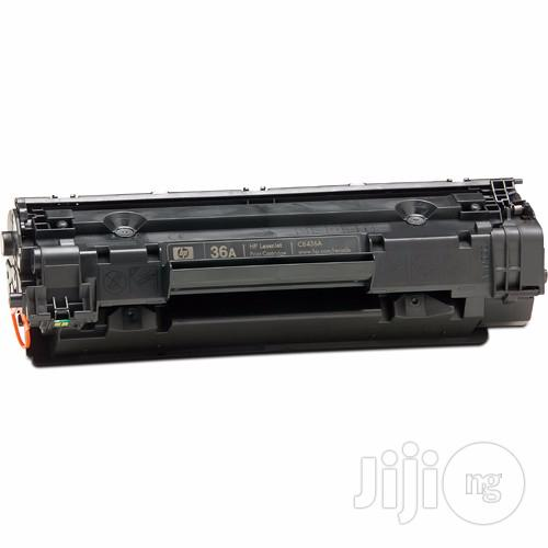 Ion Original HP Compatible Cb436a (36A) Black Printer Toner Cartridge