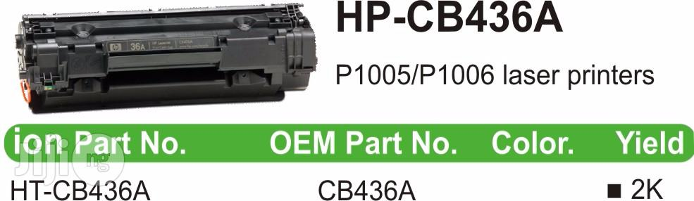 Ion Original HP Compatible Cb436a (36A) Black Printer Toner Cartridge | Accessories & Supplies for Electronics for sale in Ikeja, Lagos State, Nigeria