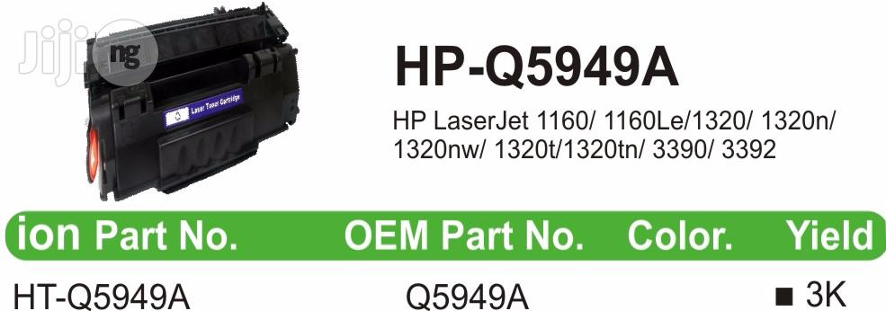 Ion Original HP Compatible Q5949A 49A Black Printer Toner Cartridge | Accessories & Supplies for Electronics for sale in Ikeja, Lagos State, Nigeria