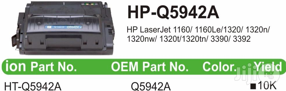 Ion Original HP Compatible Q5942A 42A Black Printer Toner Cartridge | Accessories & Supplies for Electronics for sale in Ikeja, Lagos State, Nigeria