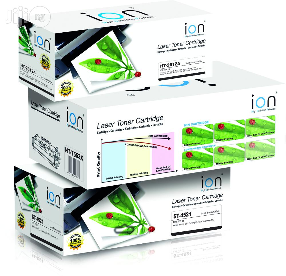 Ion Original HP Compatible Q7516A (16A) Black Printer Toner Cartridge   Accessories & Supplies for Electronics for sale in Ikeja, Lagos State, Nigeria
