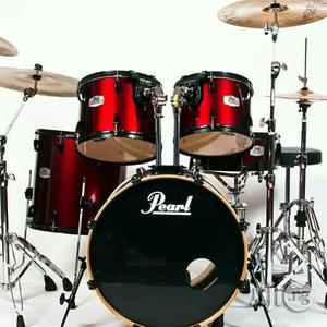 Pearl Drum Set 5 Piece . | Musical Instruments & Gear for sale in Lagos State, Ojo