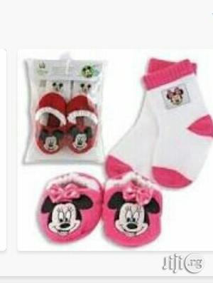 Disney Socks And Booties   Children's Clothing for sale in Lagos State, Ikeja